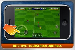 Fifa 10 for iPhone screenshot