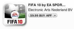 fifa 10 for iPhone
