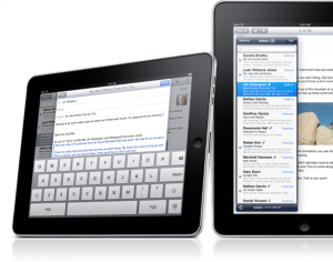 iPad-mail