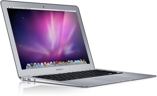 Sihirli elma MacBook Air