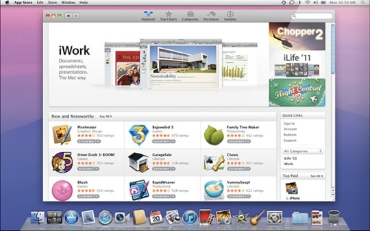 Sihirli elma lion beta mac app store