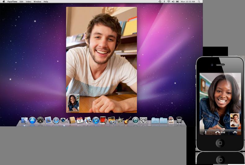 Sihirli elma macbook pro family facetime ios20110224