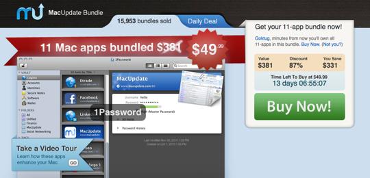 Sihirli elma MacUpdate Promo Spring Bundle 11 Mac apps 1