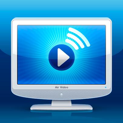 Sihirli elma apple airplay air video application icon