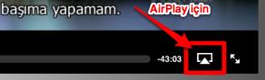 Sihirli elma apple airplay air video ipad app 4a