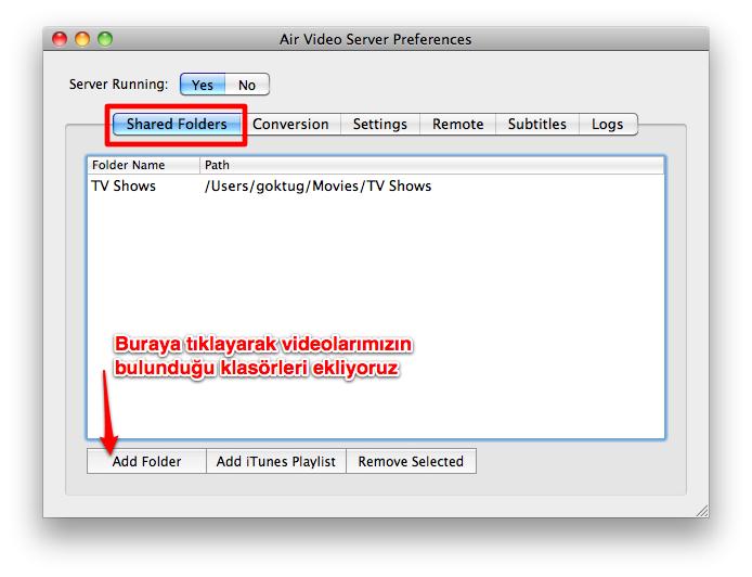 Sihirli elma apple airplay air video server beta 2