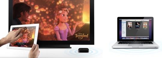 Sihirli elma apple airplay air video streaming