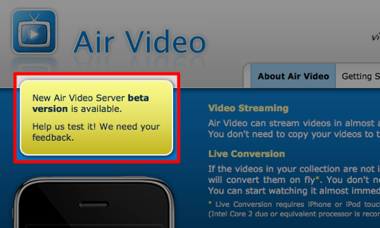 Sihirli elma apple airplay air video website click