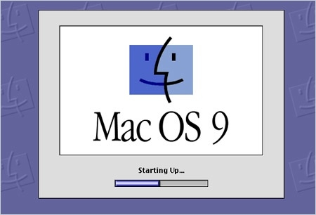 Sihirli elma apple mac os 9 splash screen