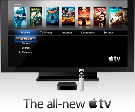 Sihirli elma apple tv home screen