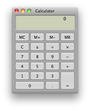 Sihirli elma hesap makinesi calculator 3 basic
