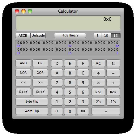 Sihirli elma hesap makinesi calculator 5 programmer