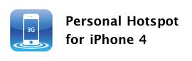 Sihirli elma iOS 4 3 personal hot spot