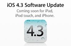 Sihirli elma itunes 10 2 iOS 4 3