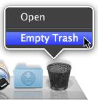 Sihirli elma secure empty trash 5