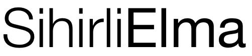 Sihirli elma font yazi tipi 1