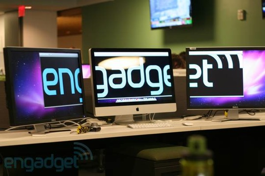 IMac mid 2011 dual external display setup by Engadget