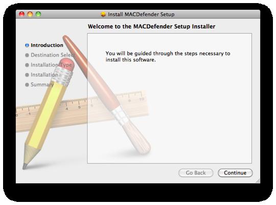 Mac defender installer