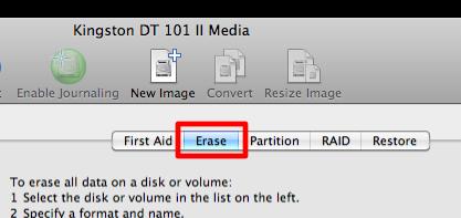 Sihirli elma disk format bicimlendirmek 2