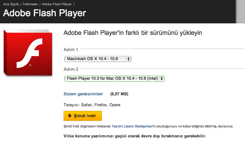 Sihirli elma flash player 10 3 1 compressed