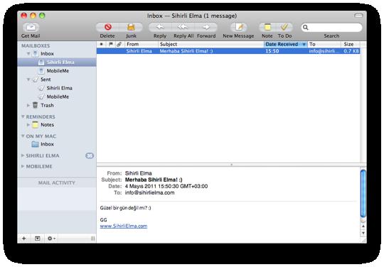 Sihirli elma mail app 9