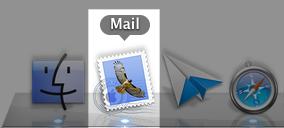 Sihirli elma mail app dock icon
