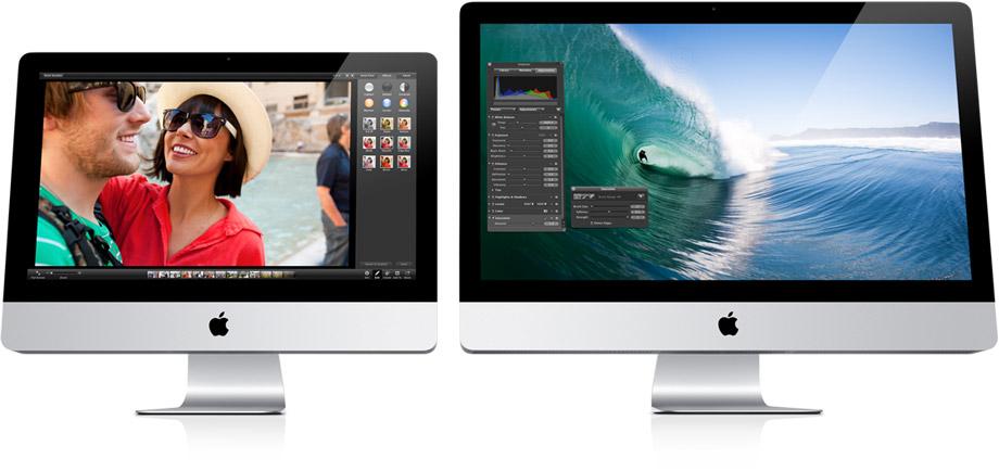 Sihirli elma yeni imac displays