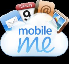 MobileMe welcome