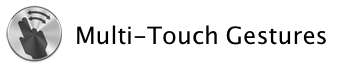 Lion multi touch gestures
