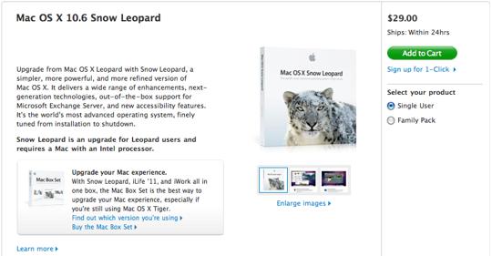 Sihirli elma snow leopard install disk usb 1