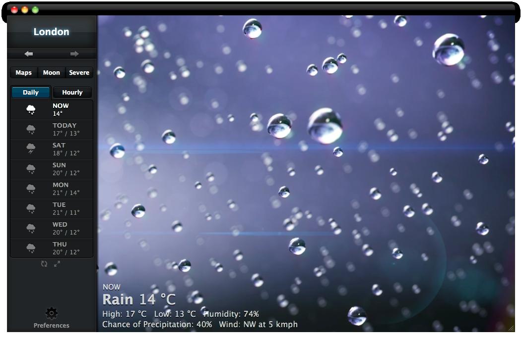 Sihirli elma weather hd 9