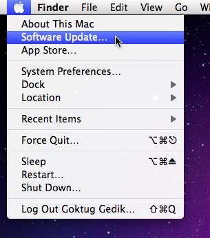 Sihirli elma software update