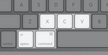 Apple cut copy paste move 1