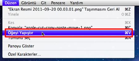Apple cut copy paste move 2