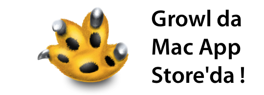 Sihirli elma growl mac app store banner