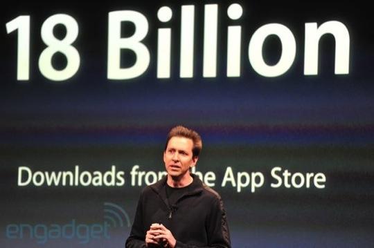 Sihirli elma iphone 4s 14 18 milyar app