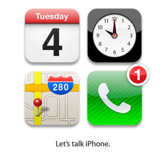 Sihirli elma lets talk iphone