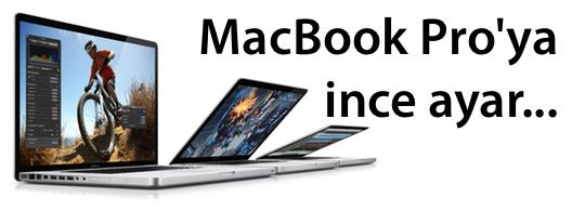 Sihirli elma macbook pro ince ayar banner
