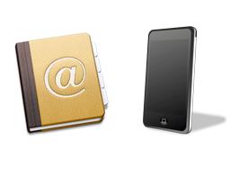 Sihirli elma adres defteri yedeklemek iphone