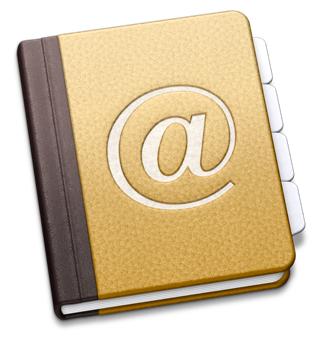 Sihirli elma adres defteri yedeklemek logo