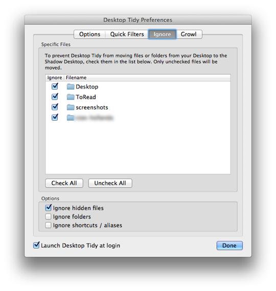 Sihirli elma desktop tidy 10a