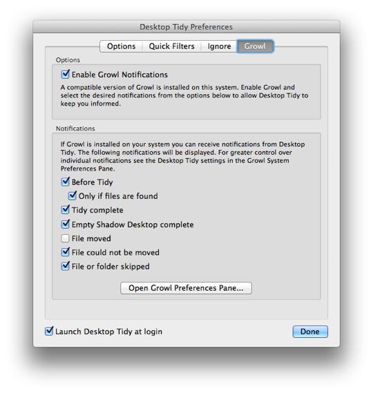 Sihirli elma desktop tidy 11