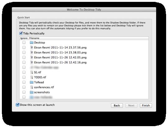Sihirli elma desktop tidy 3a