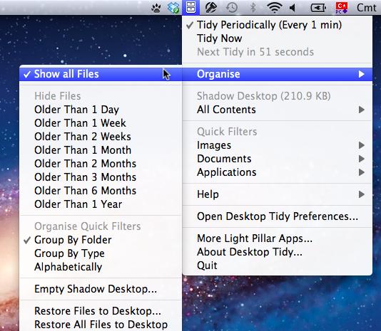 Sihirli elma desktop tidy 4
