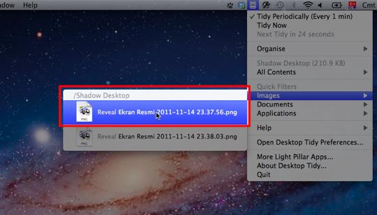 Sihirli elma desktop tidy 7