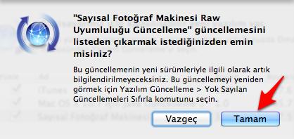 Sihirli elma guncelleme yok say 3a