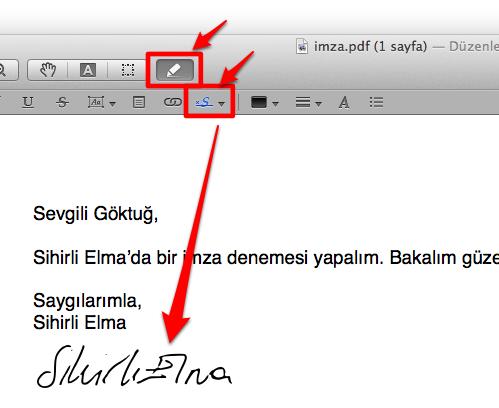Sihirli elma imza pdf 8b