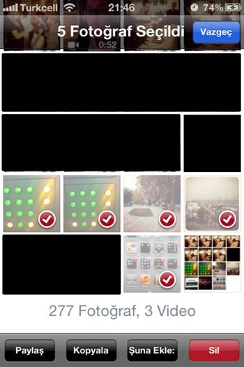 Sihirli elma iphone mac fotograf aktarmak 3