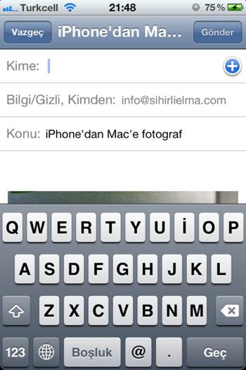 Sihirli elma iphone mac fotograf aktarmak 4