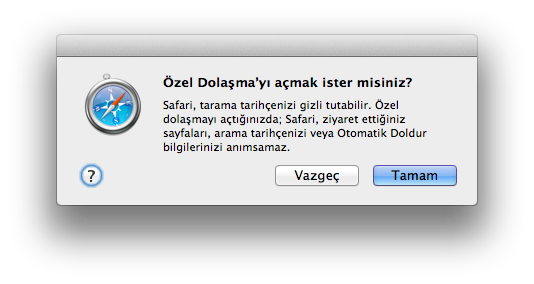Sihirli elma ozel dolasma private browsing 3